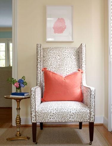 Leopard Print Chair Long Island Interior Designer Jody Sokol Design