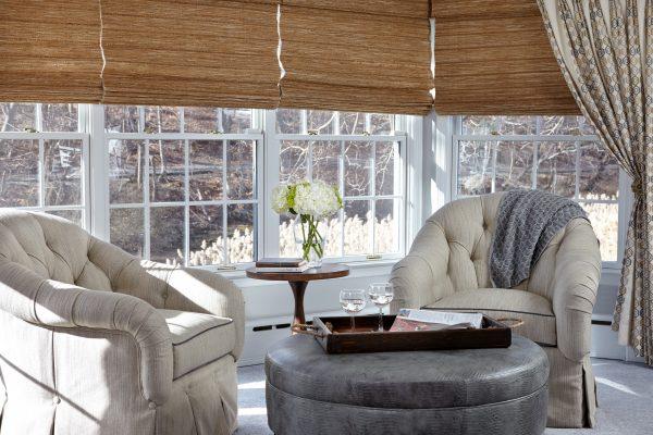 Stony Brookside window dresssing