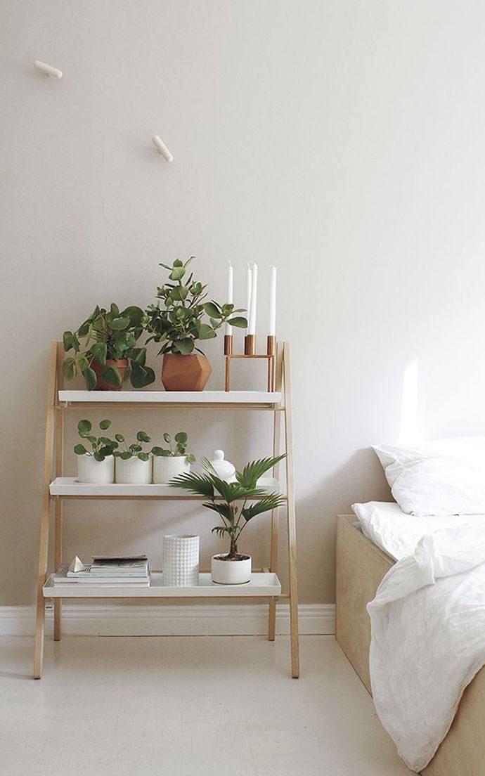 Plants On Nightstand Long Island Interior Designer Jody Sokol Design