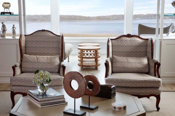 Jody Sokol Design - Centerport Sitting Area